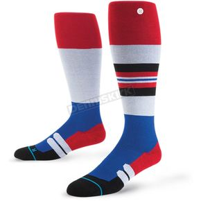 Stance Red Ralley MX Socks - M755A16RAL-LG