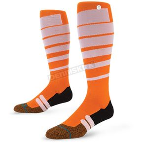 Stance Orange Groove MX Socks - M755A16GRO-OR-LG