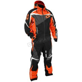 Castle X Orange/Black Freedom Shell Monosuit - 73-9166