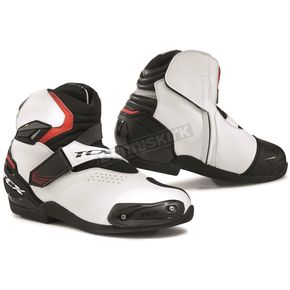 Black/White/Red Roadster 2 Air Boots