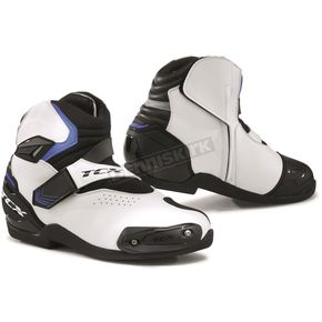White/Black/Blue Roadster 2 Air Boots