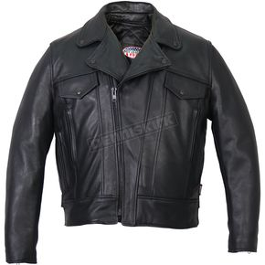 USA Made Premium Leather Vented Jacket