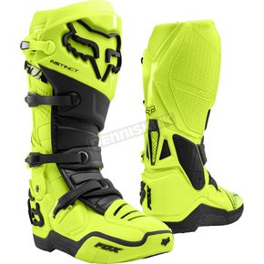 Fluorescent Yellow Instinct Boots