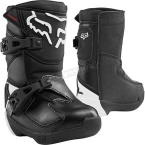 Kids Black Comp K Boots