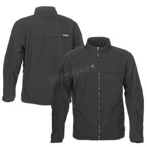 Black 12V Dual Power Heated Jacket