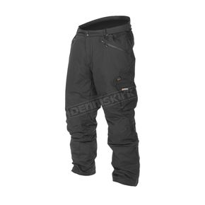 Black 12V Dual Power Heated Pants