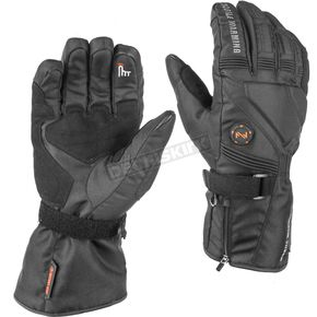 Black Unisex 7.4V Heated Storm Gloves