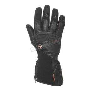 Black 7.4V Heated Dual Power Barra Gloves