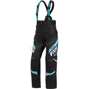 Women's Black/Sky Blue Team Pants