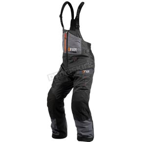 Charcoal/Black/Orange Excursion Ice Pro Pants - 200122-0830-10