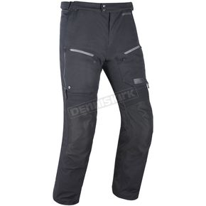 Tech Black Mondial Laminate Waterproof Textile Motorcycle Riding Pants