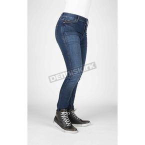 Women's Icona Blue Bull-It Tactical Slim Jeans