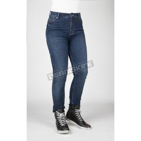 Women's Icona Blue Bull-It Tactical Straight Leg Jeans