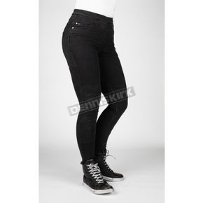 Women's Black Bull-it Fury Evo Skinny Jeggings