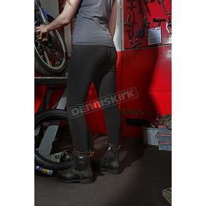 Women's Black Reinforced Super Leggings