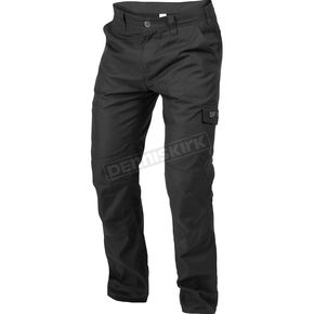 Black Workwear Pants - 201117-1000-40