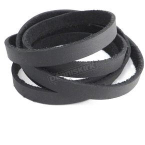 Black Multi Wrap Leather Arm Band - PV3205BLK