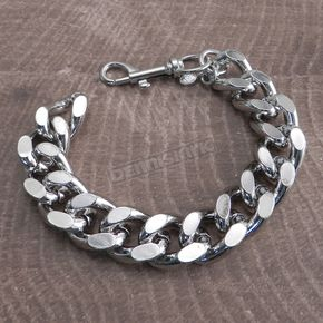 Chrome Monster Leash Chain Bracelet - BC33