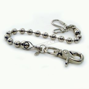 Chrome Ball Chain Key Leash - NC12-8