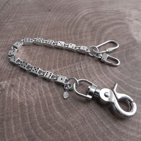 Antique Silver High Roller Dice Key Leash - NC500AS-8