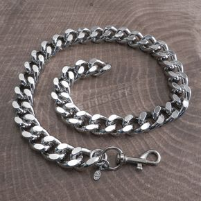 Chrome Monster Leash Necklace - CH33-22