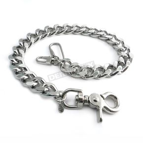 Chrome Monster Leash Wallet Chain - NC33-16