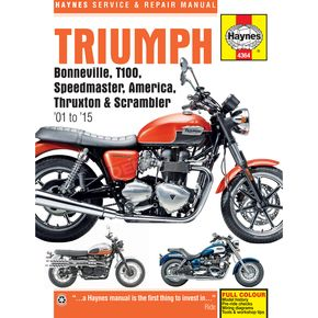 Haynes Triumph Repair Manual - M4364