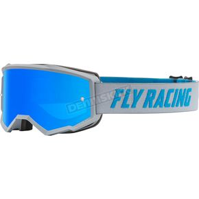 Smoke//One Size Fly Racing Youth Single Lens with Post Off-Road Motorcycle Goggle Accessories