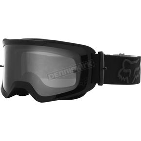 Black Main Stray Goggles w/Clear Lens - 25834-001-OS