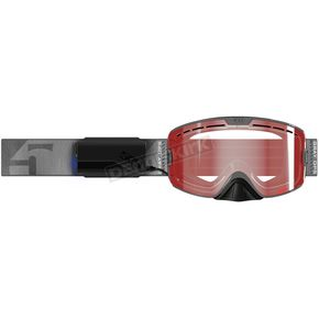 Gray Ops Kingpin Ignite Heated Goggles w/Light Rose Tint Lens - F02001400-000-601