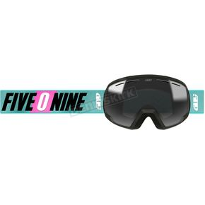 Youth Teal Aura Ripper 2.0 Goggles w/Sapphire Mirror Smoke Tint Lens - F02002201-000-251