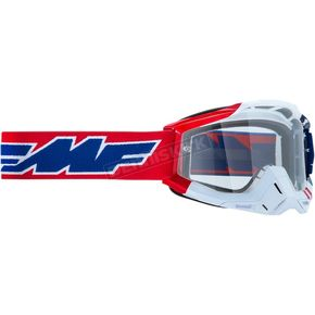 US Powerbomb Goggle w/ Clear Lenses - F-50200-101-07