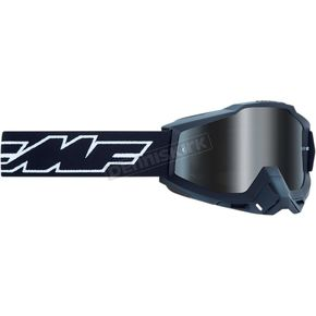 Rocket Black  Powerbomb Goggles w/Clear Lens w/Mirror Silver Lenses - F-50200-252-01