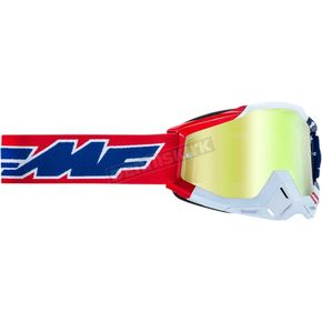US Powerbomb Goggle w/Gold Lenses - F-50200-253-07