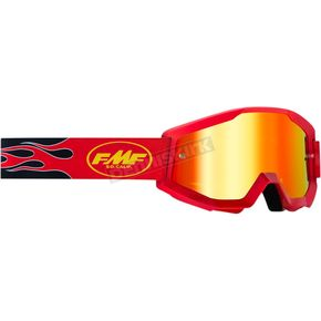 Powercore Flame Red Powercore Goggle w/Red Lens  - F-50400-251-03