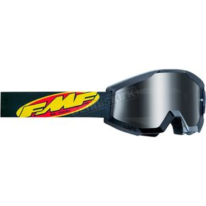 Core Black Powercore Sand Goggles w/Clear Lens - F-50440-102-01