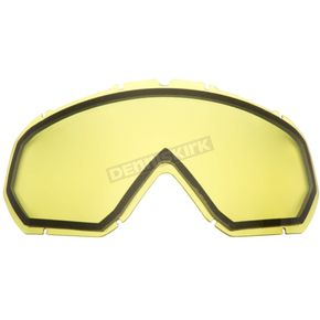 Yellow Dual Pane Lens for Assault Goggles - YH16/LENS-YE-DL