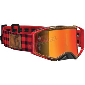 Scott Red/Brown Logger Prospect Limited Edition Goggle - 264656-0008280