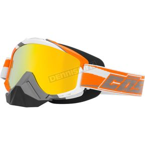 Castle X Orange X2 Force SE Snow Goggles w/Mirrored Dual Lens - 64-1721