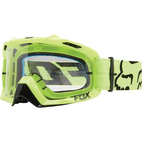 Fox Flo Yellow/Clear Air Defence Goggles - 14594-903-NS