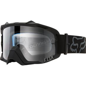 Fox Black/Clear Air Defence Goggles - 14594-904-NS