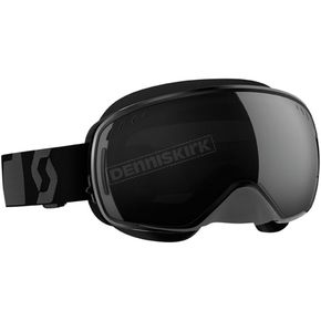 Scott Black LCG Snowcross Goggles w/Black Chrome Lens - 240526-0001299