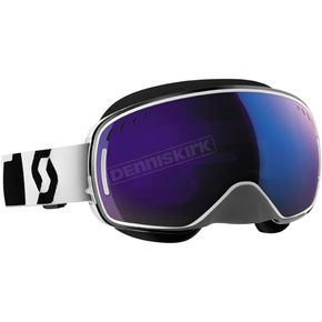Scott White LCG Snowcross Goggles w/Blue Chrome Lens - 240526-0002300