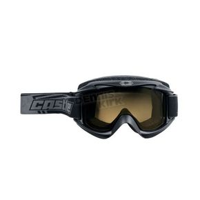 Castle X Matte Black Launch Snow Goggles w/Yellow Lens - 64-1224