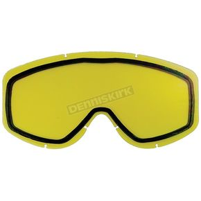 Castle X Yellow Dual Replacement Lens for Force Goggle - 64-9155C