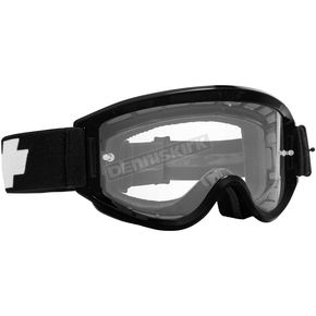 Spy Optic Black Breakaway Goggle w/Clear Lens - 323291038100