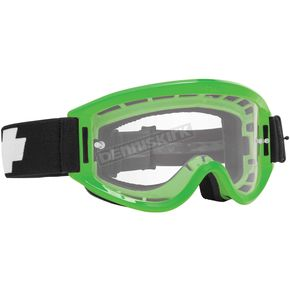 Spy Optic Green Breakaway Goggle w/Clear Lens - 323291233100