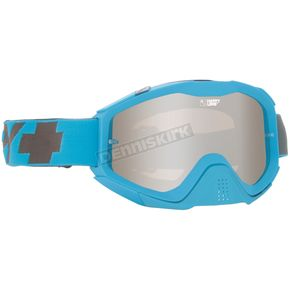 Spy Optic Washed Out Blue Klutch Goggle w/Happy Bronze/Silver Mirror Lens - 322017715271
