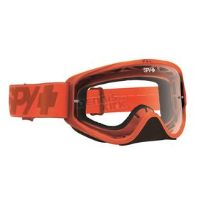 Spy Optic Mono Orange Woot Goggle w/ Clear AFP Lens - 323346462100