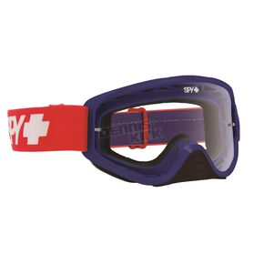 Spy Optic Classic USA Woot Goggle w/ Clear AFP Lens - 323346835100
